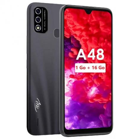 Smartphone ITEL A48 - Noir (ITEL-A48-BLACK)
