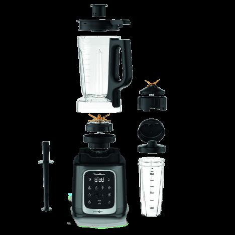 Blender MOULINEX 1600 Watt Avec Bol Tritan - Argent (LM91HD10)