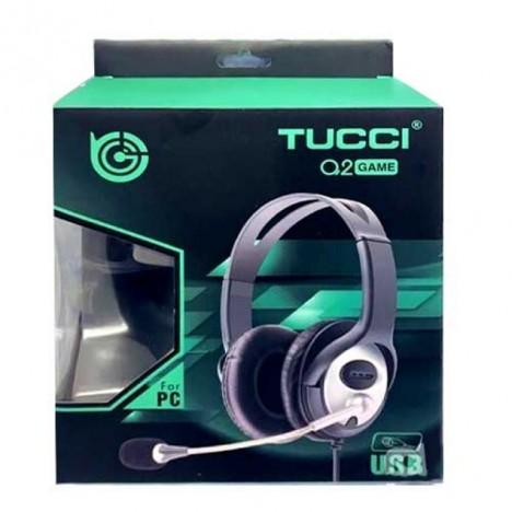 CASQUE MICRO TUCCI Q2 GAME USB (TCC-Q2)