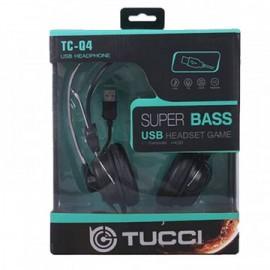 CASQUE MICRO TUCCI Q4 GAME USB (TCC-Q4)