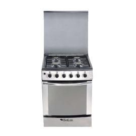 Cuisinière BIOLUX Inox 4 Feux (M 6060XTBA)