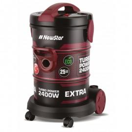 Aspirateur Cyclonique NEWSTAR  2200W Rouge (ASPWF102)