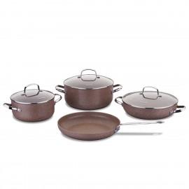 Set de 7 Pièces KORKMAZ Céramique - Browni (A2900)