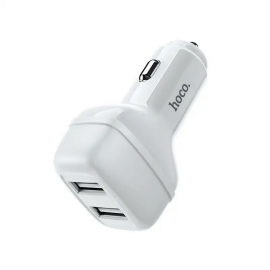 Chargeur Voiture Hoco Z36 2,4A double USB pour Iphone (Z36-IWH)