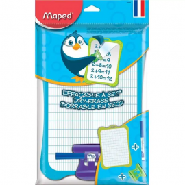 Ardoise MAPED Classic Blanche Avec Accessoires (258500)