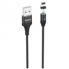Câble Iphone Hoco U76 Magnétique 3A (U76-IBK)