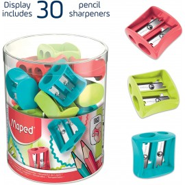 Taille Crayon MAPED Vivo - 2 Trous (062511)