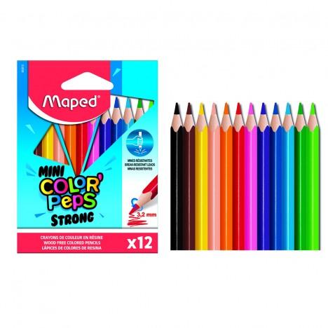 Crayon MAPED Couleur de 12/09 - Strong (862812)