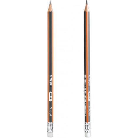 Crayon à Papier MAPED GRAPHITE - avec Gomme (851759)