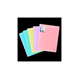 Assorties Protège-Documents PASTEL 160 vues -réf :1500012V160C1
