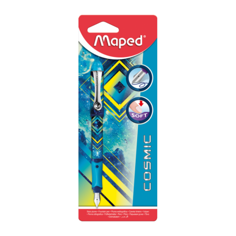 Stylo-Plume MAPED Cosmic Teens - Bleu (220012)