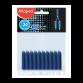 Lot de 20 Cartouches d'encre MAPED - Bleu (221910)