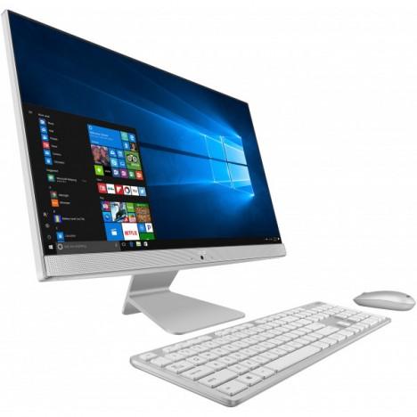 PC de Bureau All-in-One ASUS Vivo AIO - i3 10è Gén/4 Go - Blanc (V241EAK-WA088T)