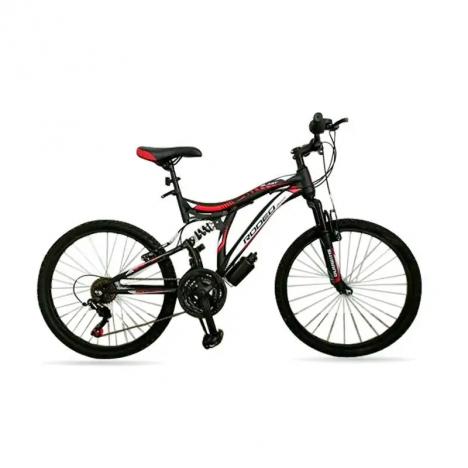 """Bicyclette VTT RODEO 24"""" Vitesse 18 BLAST - Noir (6024 B18)"""