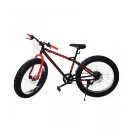 "Bicyclette RODEO Fat Bike Mirage 24"" - Noir (6024 FB)"