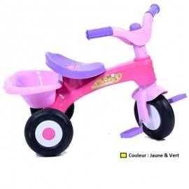 Tricycle Love Puk Rodeo - Jaune & Vert (T227)