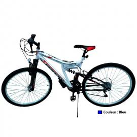 "Bicyclette PRADO - VTT BLACK DAWN 26"" Bleu (9026 D)"