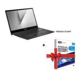 "Pc Portable Asus VivoBook Flip R5-5500U 14"" FHD Tactile-(TM420UA-EC004T)"
