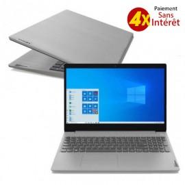 PC Portable LENOVO IP3 15IIL05 i3 10è Gén 4Go 1To - Platinum Grey (81WE0162FG)