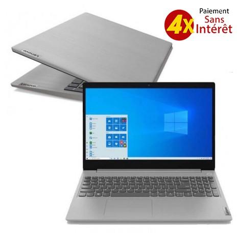 PC Portable LENOVO IP3 15IIL05 i3 10è Gén 4Go 1To - Gris (81WE015GFG)