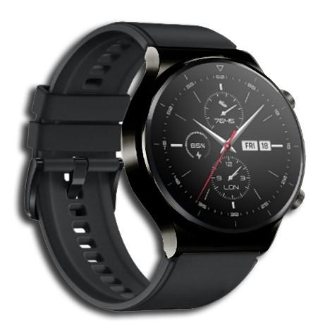 Montre Connectée Noir GT2-BLK (Smart-G)