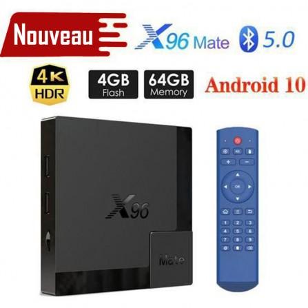 Box TV Android X96 Mate - 4K - 4Go de RAM - 64Go ROM - (x96-mate)