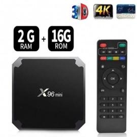 Box TV Android X96 Mini - 2Go RAM - 16Go ROM - (x96-2G)