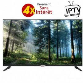 Téléviseur TELEFUNKEN 32'' HD + Récepteur (TV32D2) + Abon IPTV 1An
