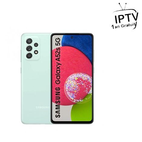 Smartphone Samsung galaxy A52s 5G Vert (SM-A52S-128-VERT)