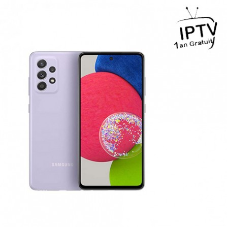 Smartphone Samsung galaxy A52s 5G Violet (SM-A52S-128-VIOLET)