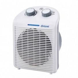 Ventilateur 2en1 Électrique ORIENT Blanc -(OCE-1750)