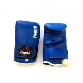 Gant de Kick Boxing 7509 ZIMOTA - Taille L Bleu (05017509)