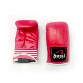 Gant de Kick Boxing 7500 ZIMOTA - Taille S Rouge (05017500)