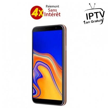 Téléphone portable SAMSUNG GALAXY J4+ / 4G / Double Sim / Gold
