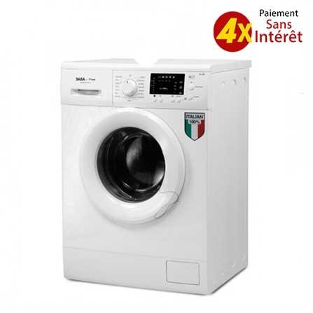 Machine à Laver SABA Automatique 6 kg - Blanc (FS610BL)