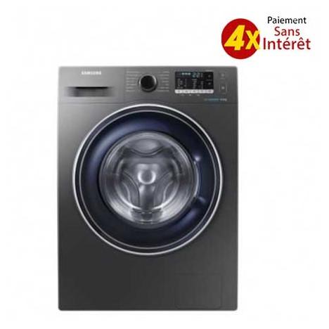 Machine à laver SAMSUNG  Inox  8 Kg  WW80J5555FX