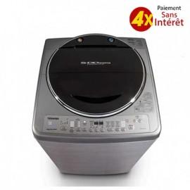 Machine à Laver TOSHIBA Top Load 15Kg - Silver (MACH-TSHDC1500S)