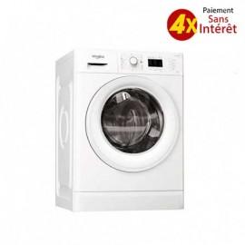 Machine à Laver Whirlpool 7kg - 1000 Tr/Min - Blanc (FWL71052W)