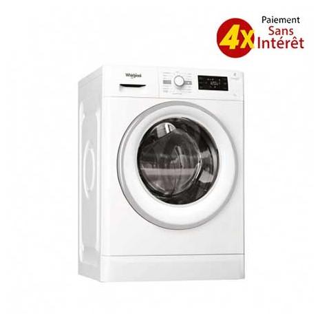 Machine à laver Frontale WHIRLPOOL 7 kg (FWG71253W NA )