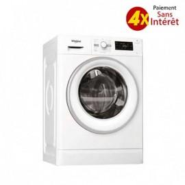 Machine à Laver WHIRLPOOL Frontale 7kg - Blanc (FWG71253W NA)