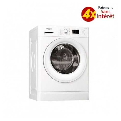 Machine à laver Frontale WHIRLPOOL  9 kg Blanc (FWG91284W NA )