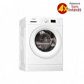 Machine à Laver Whirlpool Frontale 9kg - Blanc (FWG91284W NA)