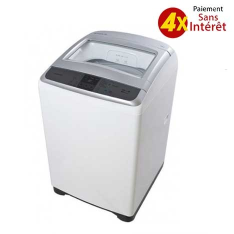 Machine à Laver Top DAEWOO - 11kg - Blanc (DWF G 220 WIB)