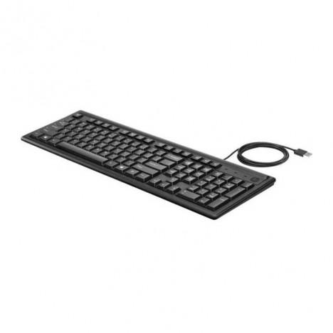 Clavier Filaire HP USB Noir - 2UN30AA