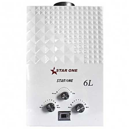 Chauffe bain STAR ONE  à gaz naturelle 6L Blanc