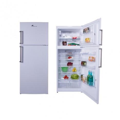 Réfrigérateur MONBLANC 500L - 2 Portes Blanc (ALPHA NF50)