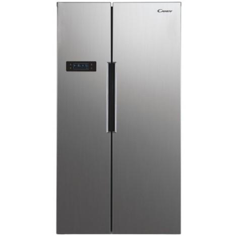 Réfrigérateur CANDY Side By Side - Silver (CHSVN 174X)