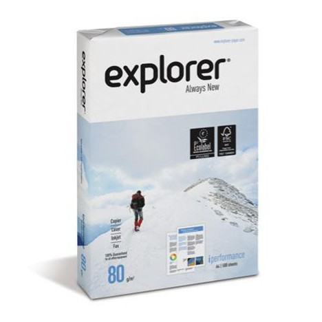 Rame de  papier explorer 80g/m