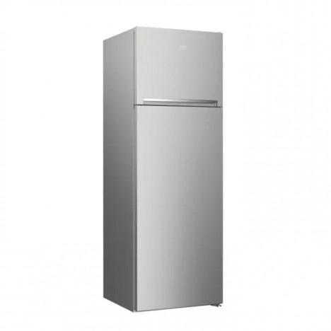 Réfrigérateur BEKO MiniFrost - 360 Litres - Silver (RDSA43S)