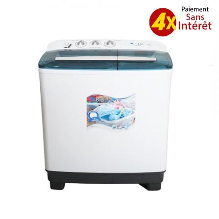 Machine A laver BIOLUX Semi Automatique 12Kg - Blanc prix tunsie